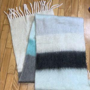 Mohair Blanket Scarf